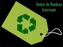 Gestor de residuos autorizado